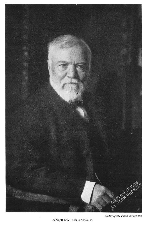 High quality picture of Andrew Carnegie from the Empire of Business: 1913