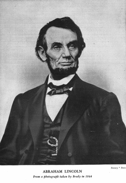 Picture of Abraham Lincoln from Ida M. Tarbell's work Abraham Lincoln.