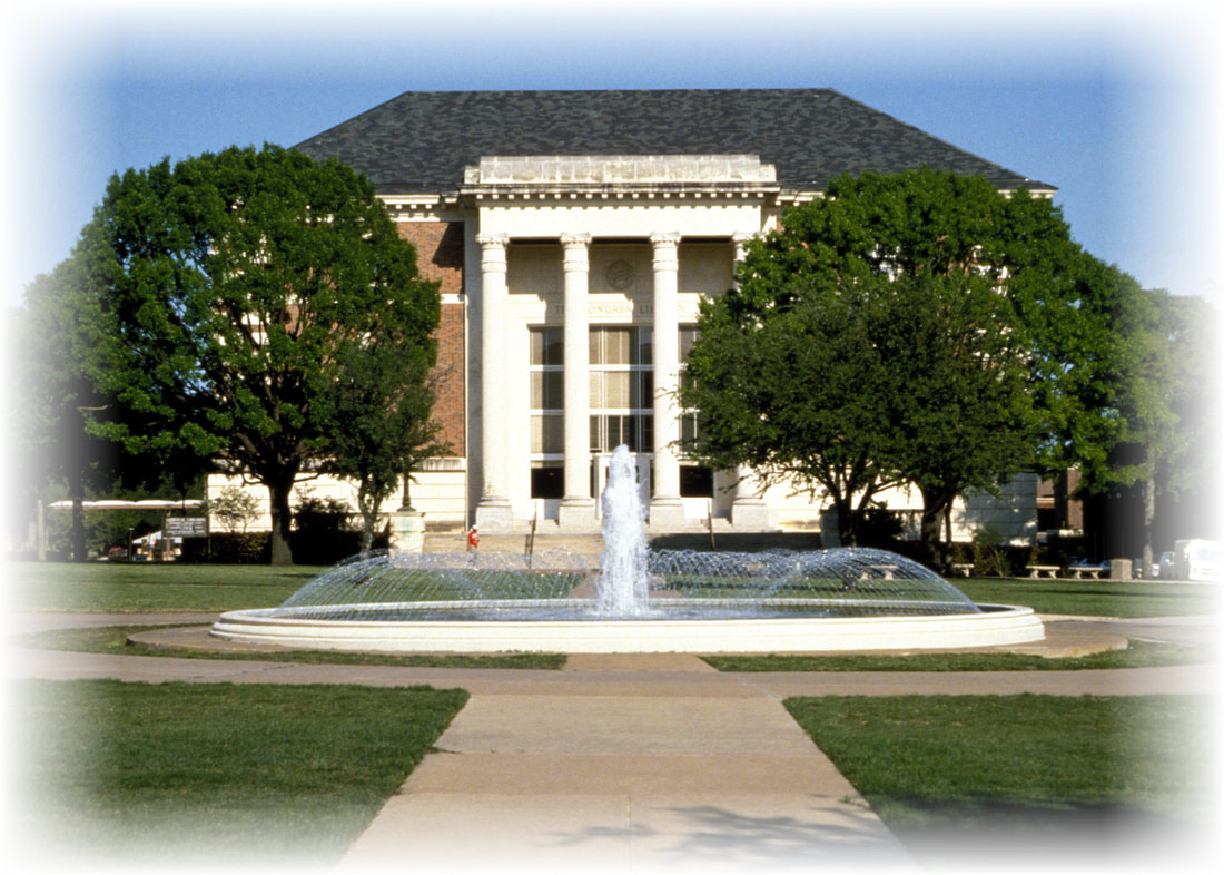 Image of the DeGolyer Library at SMU