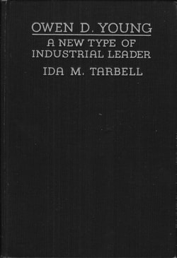 High quality image of the front cover of Ida Tarbell's book: