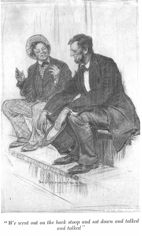 Image of Billy Brown and Abraham Lincoln from